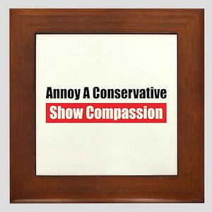 Show Compassion Framed Tile