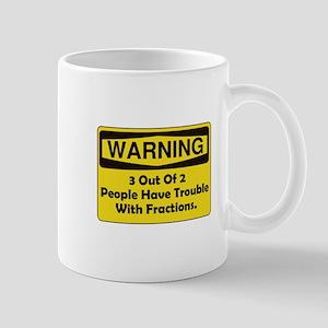 Warning Fraction Mug