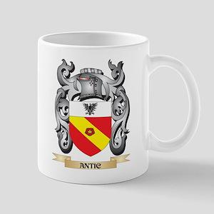 Antic Family Crest - Antic Coat of Arms Mugs