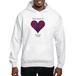 Heart - Fraser of Reelig Hooded Sweatshirt