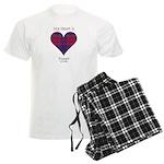 Heart - Fraser of Reelig Men's Light Pajamas