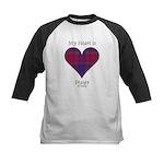 Heart - Fraser of Reelig Kids Baseball Jersey