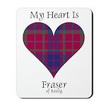 Heart - Fraser of Reelig Mousepad