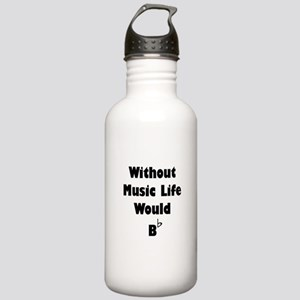 Music B Flat Stainless Water Bottle 1.0L