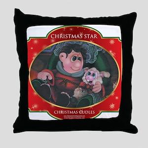 Christmas Cuddles - Christmas Throw Pillow