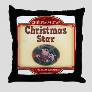 Christmas Cuddles Book Interi Throw Pillow