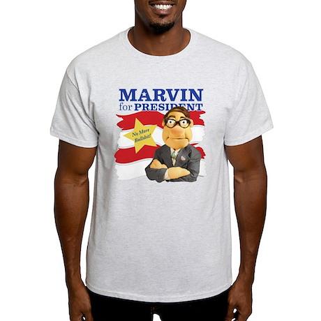 Marvin for President Light T-Shirt