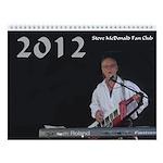 Steve in the U.S.A! (2012 Calendar)