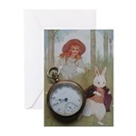 Alice In Wonderland Greeting Cards (Pk of 10)