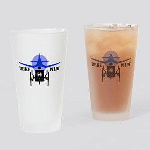 Trike Pilot Drinking Glass
