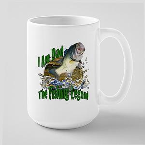 Dad Bass legend Large Mug
