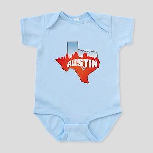 Austin Texas Skyline Infant Bodysuit