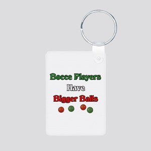 Bocce players have bigger balls. Aluminum Photo Ke