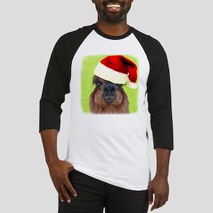 Alpaca Christmas Baseball Jersey