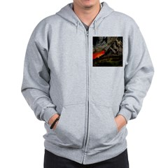Art & Logo Shirt Collection Zip Hoodie