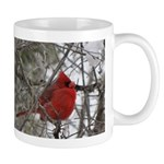 Pretty Red Bird Mug
