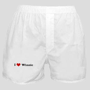 I Love Winnie Boxer Shorts