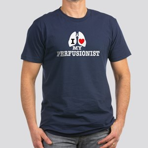 I Love My Perfusionist Men's Fitted T-Shirt (dark)