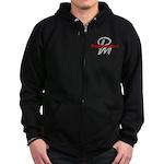 Poppermost Zip Hoodie (dark)