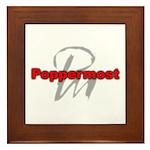 Poppermost Framed Tile