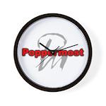 Poppermost Wall Clock