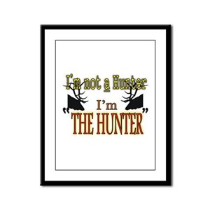 The Hunter Framed Panel Print