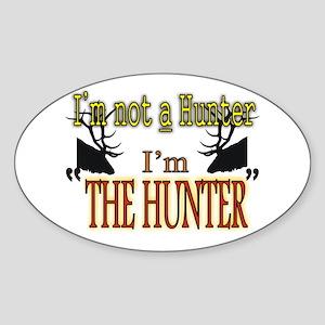 The Hunter Sticker (Oval)