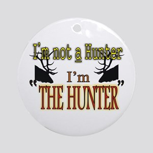 The Hunter Ornament (Round)