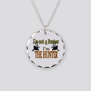 The Hunter Necklace Circle Charm