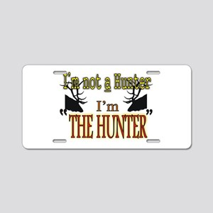 The Hunter Aluminum License Plate