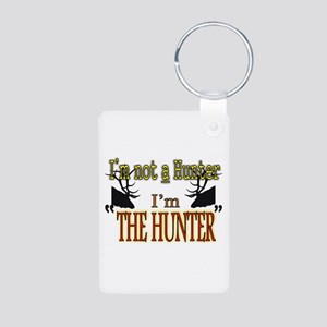 The Hunter Aluminum Photo Keychain