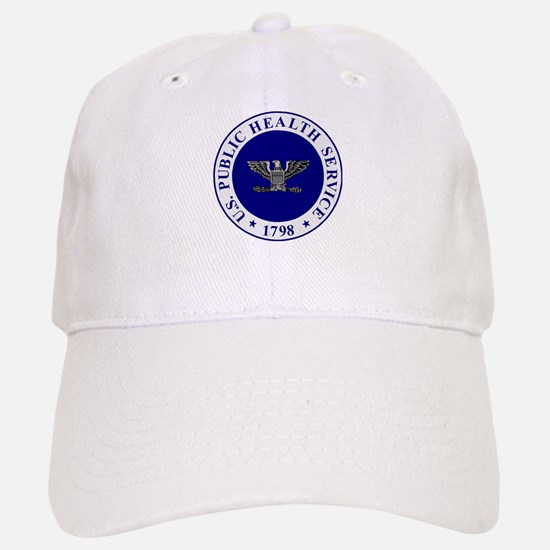 USPHS Captain<BR>White Baseball Baseball Cap