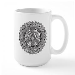 Peace Arabesque Large Mug