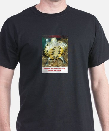 Cute Red eared slider turtle T-Shirt