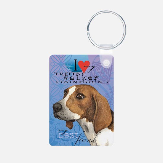 Treeing Walker Keychains
