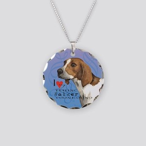 Treeing Walker Necklace Circle Charm