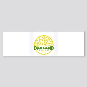 Oakland Pride Tree Light (www Sticker (Bumper)