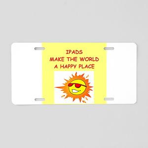 ipads Aluminum License Plate