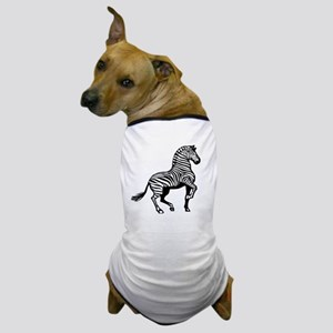 Zebra Symbol Dog T-Shirt