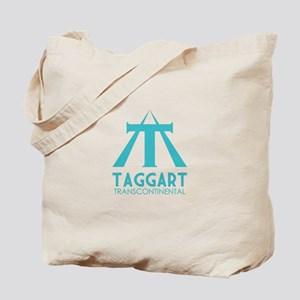 Taggart Transcontinental Blue Tote Bag
