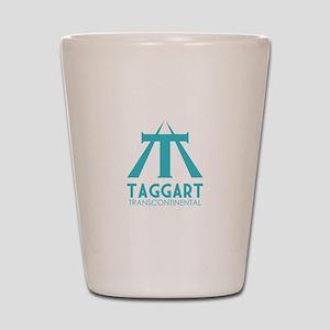 Taggart Transcontinental Blue Shot Glass