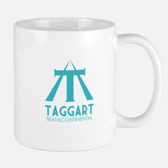 Taggart Transcontinental Blue Mug
