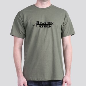 Rearden Steel Black Dark T-Shirt