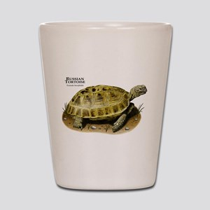 Russian Tortoise Shot Glass