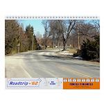 Roadtrip-'62 Wall Calendar