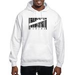 Barcode Rowing Hooded Sweatshirt