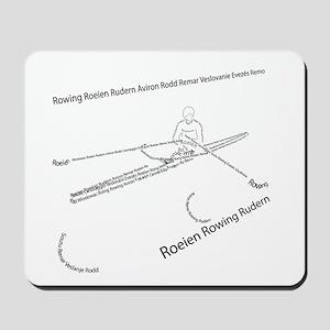 International Rowing Mousepad