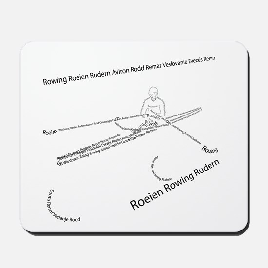 International Rowing Mousepad