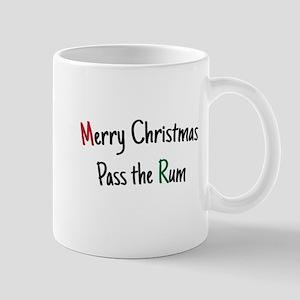 Merry Christmas Pass the Rum Mug