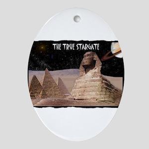 the true stargate Ornament (Oval)